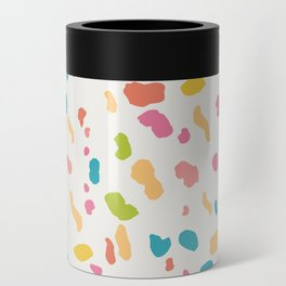 Colorful Animal Print Can Cooler