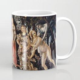 Sandro Botticelli - La Primavera , Spring Coffee Mug