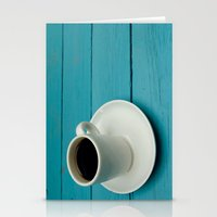 coffe Stationery Cards featuring Coffe by Camaracraft