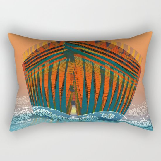 The Sea is my Home Rectangular Pillow