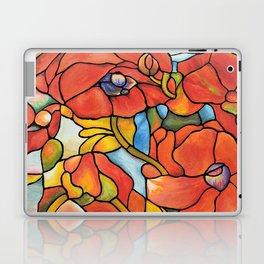 Red Poppy Lamp Laptop & iPad Skin