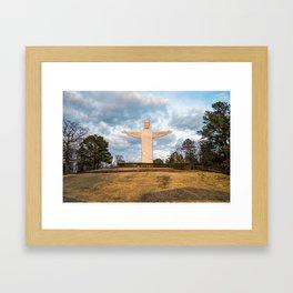 Eureka Springs Arkansas Christ of the Ozarks Framed Art Print