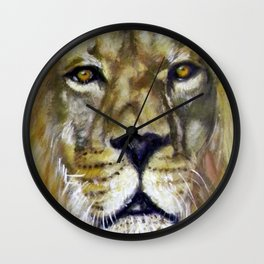 Title: Mesmerizing Lion King Wall Clock