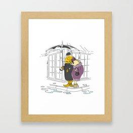 Bigwigs Framed Art Print
