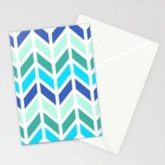 SPRING CHEVRON 2 Stationery Cards