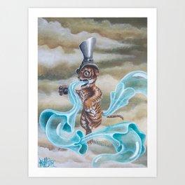 de clawed Art Print