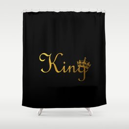 King Crown Shower Curtain