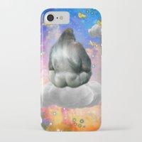 gorilla iPhone & iPod Cases featuring Gorilla by haroulita