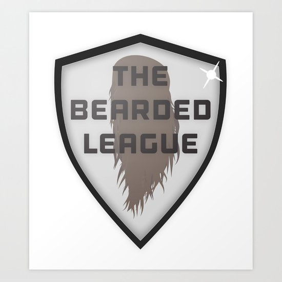The Bearded League Art Print