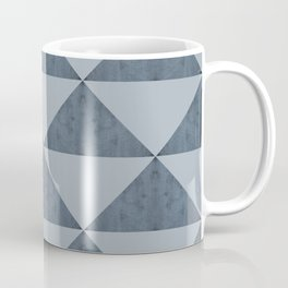 Cement Bluestone Triangles Coffee Mug