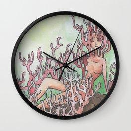 Empire of Mushrooms: Artomyces pyxidatus Wall Clock