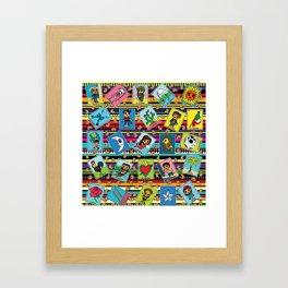 Loteria Night Framed Art Print