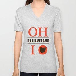 Believeland Unisex V-Neck