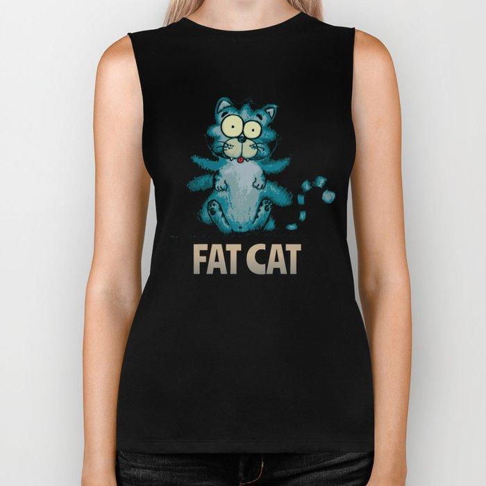 Fat Cat Biker Tank