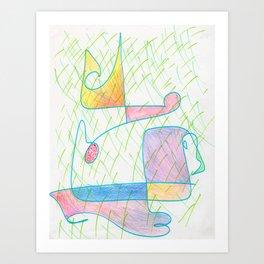 Hybrid 4 Art Print