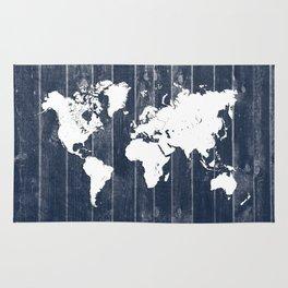 world map 98 white #worldmap #map Rug