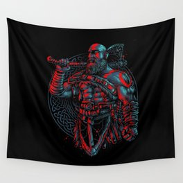 kratos Wall Tapestry