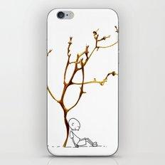 Grape tree iPhone & iPod Skin
