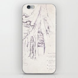 Given enough time, nature will win iPhone Skin