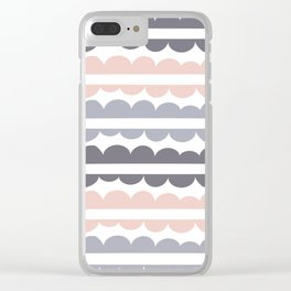 Mordidas Pale Dogwood Clear iPhone Case