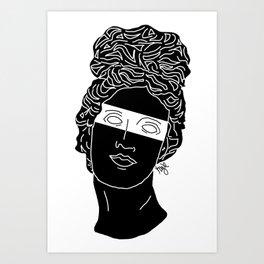 The Muse Art Print