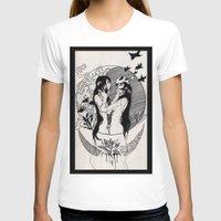 yin yang T-shirts featuring Yin Yang by Reverie Yang