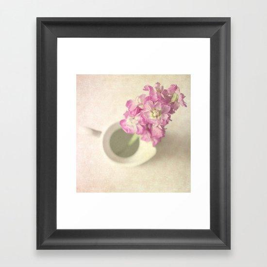Stocks III Framed Art Print