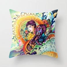 Trance Throw Pillow