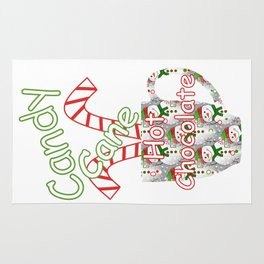 Kitchen Christmas Rugs Society6