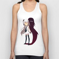 shadow Tank Tops featuring Shadow by Freeminds
