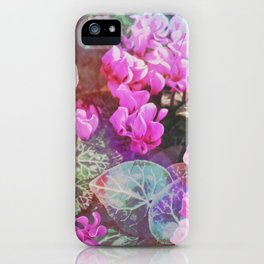 Soft Cyclamen iPhone Case