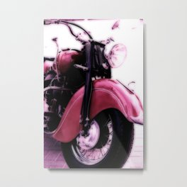 Motorcycle-Poster Metal Print