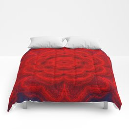 Floral red  Comforters
