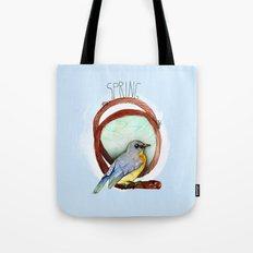 Spring birdy / Nr. 2 Tote Bag