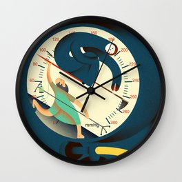 the death lancet Wall Clock