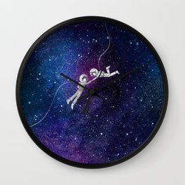 Galaxy Love Wall Clock