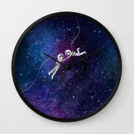 Galaxy Love Wall Clock
