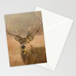 Autumn Stag Stationery Cards