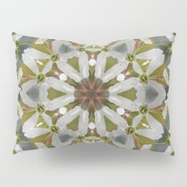 Lacy Serviceberry kaleidoscope - Amelanchier 0033 k5 Pillow Sham