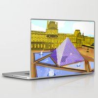 bonjour Laptop & iPad Skins featuring Bonjour by Hola Vicky