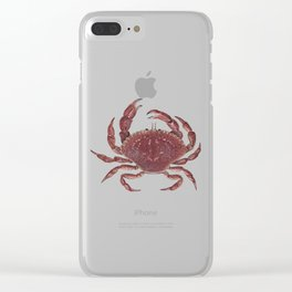 Rock Crab Clear iPhone Case