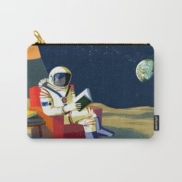 Moon Library Carry-All Pouch