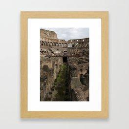 The Whole Coliseum Framed Art Print