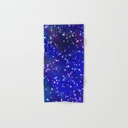 Stars in the Navy Blue Sky Hand & Bath Towel
