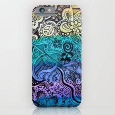 Watercolor Doodle iPhone 6s Slim Case
