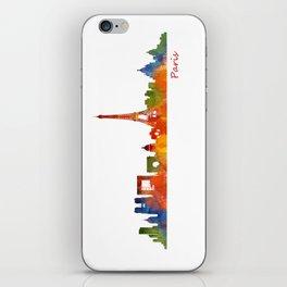 Paris City Skyline Hq v1 iPhone Skin