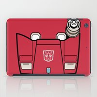 transformers iPad Cases featuring Transformers - Sideswipe by CaptainLaserBeam