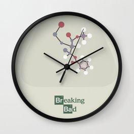 Breaking Bad - Minimal Movie Poster Wall Clock