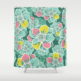 Mandala Flowers 5 Shower Curtain