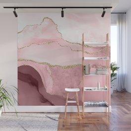 Blush Marble Art Landscape Wall Mural